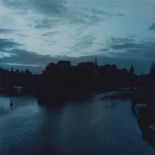 <p><em>Seine, Isle. </em> Still image used as projection during performance. </p>