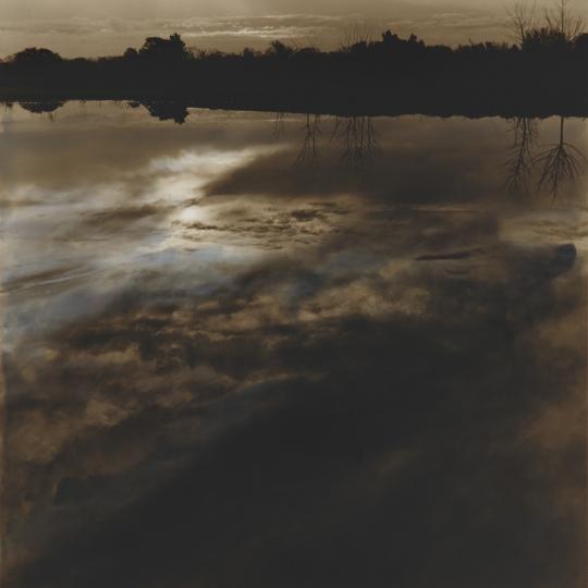 <p><em>Pond Round Top</em>, Gelatin Silver Print, Sepia Toned, hand painted. 7</p>