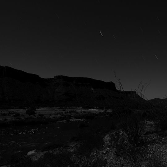 "<p><em>Big Bend Panorama in 4 Parts</em>.  each print Chromogenic, 18"" x 24"" 2009.</p>"