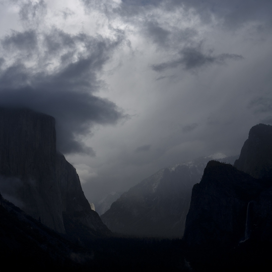 "<p><em>Yosemite Valley</em>.  Archival Inkjet Print. 65"" x 44""  2010</p>"
